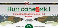 Hurricane Mk.I, decals