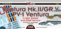 Ventura Mk.II/GR V, PV-1 Ventura
