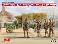 "Standard B ""Liberty"" with WWI US Infantry"