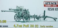 4,7cm PaK 36 (t) Early version