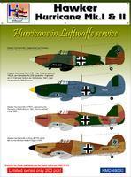 Hawker Hurricane Mk.I & II in the Luftwafe, limited series