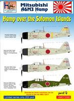 Mitsubishi A6M3 Hamp over the Solomon Islands part 4