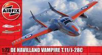 De Havilland Vampire T.11/J-28C