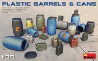 Plastic Barrels & Cans