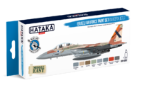 Israeli Air Force Paint Set (Modern Jets)