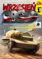 TKS s 20mm dělem - Polský lehký průzkumný tank