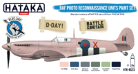 RAF Photo Reconnaussance Unit Paint set, sada barev