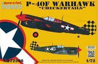"P-40F Warhawk  ""Checkertails"""