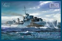 HMS Ithuriel 1942 British I-Class destroyer - přijímáme předobjednávky / pre-orders