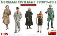 German Civilians  1930´s-40´s (5fig.)