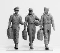 USAAF Pilots (1941-1945)  3 fig.