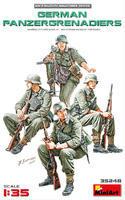 German Panzergrenadiers, 4 fig.