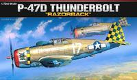 P-47D Thunderbolt Razorback 1:72