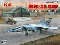 Mig-25 RBF Soviet Reconnaissance Plane