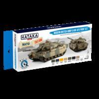 Modern British Army & RAF AFV Paint set, sada barev