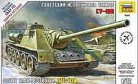 Su-100 Soviet Tank Destroyer