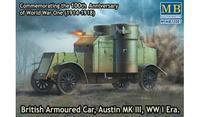 British Armoured Car, Austin Mk III? WWI Era