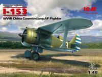 I-153 WWII China Guomindang AF Fighter