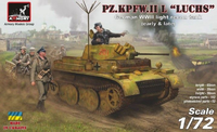 "PZ.KPFW.II K ""Luchs"" German WWII Light Recon Tank (Easrly & Late)"