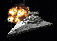 Imperial  Star Destroyer - Star wars  1:12300