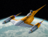 Naboo Starfighter - Star wars  1:109