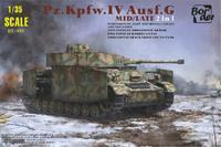 Pz.Kpfw.IV Ausf. G, German Medium Tank Sd.Kfz.161