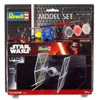 Tie Fighter Star Wars - stavebnice,  štětce , lepidlo a barvy