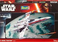 X-Wing Fighter Star Wars 1:112, sada model, lepidlo, štětce, barvy.