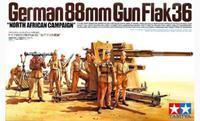 "German 88mm Gun Flak 36 ""North African Capaign"""