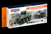 Modern Polish Army AFV Paint Set, sada barev