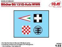 Bücker Bü 131D WWII Axis