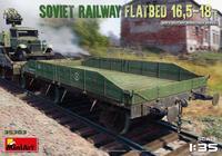 Soviet Railway Flatbed 16,5-18 t