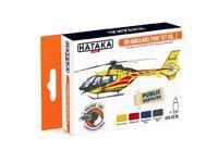 Air Ambulance Paint Set Vol.2, sada barev