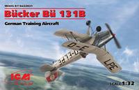 Bücker Bü 131B German Training Aircraft