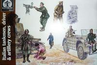 Italian Tanken , Driver & Artilery  Crews