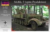Sd.Kfz.7 (Late production) mit 3,7cm Flak 43