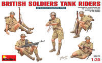 British Soldiers - Tank Riders