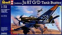 Ju-87 G/D Tank Buster