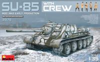 SU-85 Mod. 1943 (Early Production) w/Crew