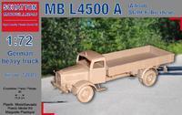 MB L4500 A (Allrad) Stahl-Fahrerhaus