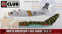 F-86 with Mig 15 Club 1:72