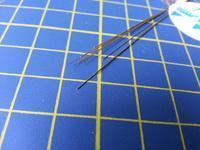 mosazná tyč kruhového průřezu o0,2mm délka 305mm 10ks