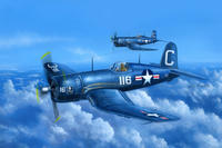 F4U-4 Corsair early version
