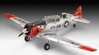 T-6 G Texan + barvy, lepidlo a štětec.