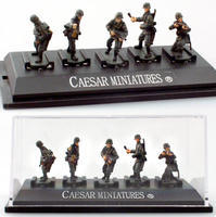 WWII German Panzergrenadiers set 3, 5 fig.