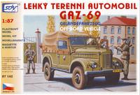 Lehký terrénní automobil GAZ-69