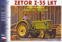 Zetor Z-35 lesní kolový traktor