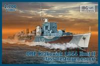 ORP Krakowiak 1944 Hunt II class destroyer escort