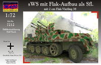 sWS mit Flak-Aufbau als Sfl mit 2 cm Flak-Vierling
