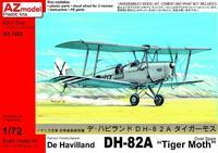 "DH-82A ""Tiger Moth"" over Spain"